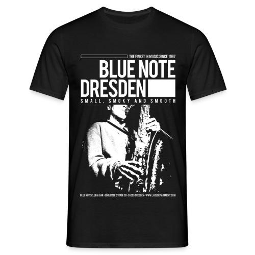 Blue Note Fanshirt Sax - Männer T-Shirt