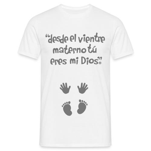 mano vec2 spread3 logo - Camiseta hombre