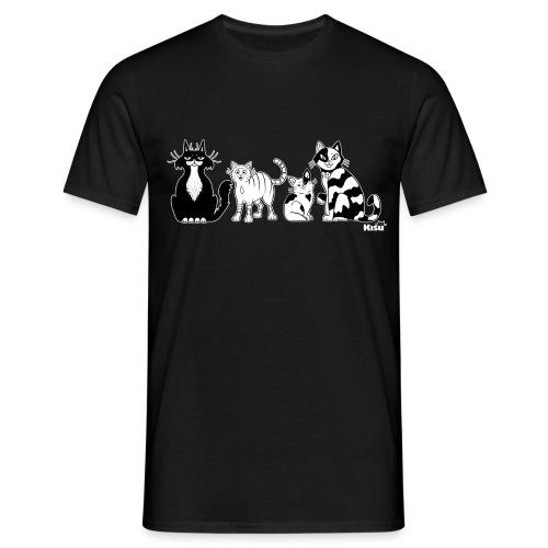 Ryhma mustavalko - Miesten t-paita
