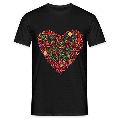 Colorblind png - Männer T-Shirt