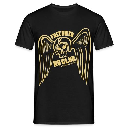 angel alado casco 2 - Camiseta hombre