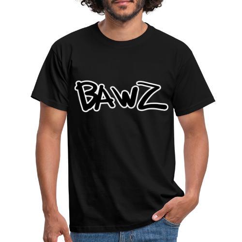 bawz tekst - Mannen T-shirt