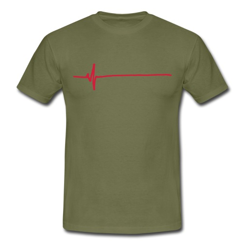 Flatline - Men's T-Shirt
