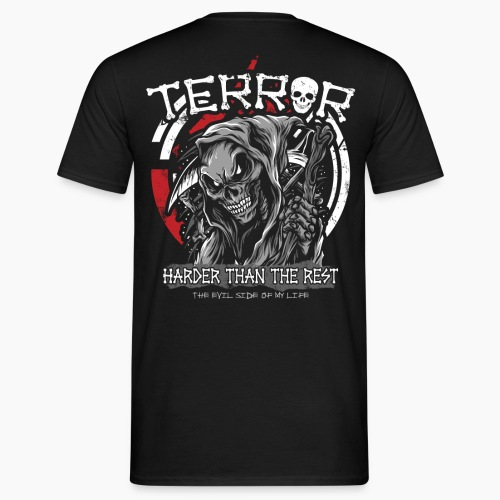 Terror - Harder Than The Rest - Men's T-Shirt