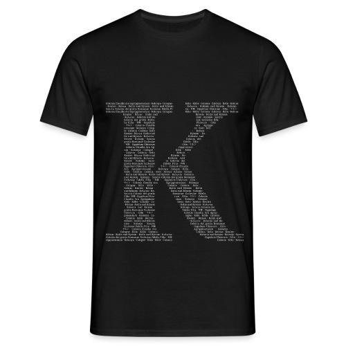 K - Männer T-Shirt