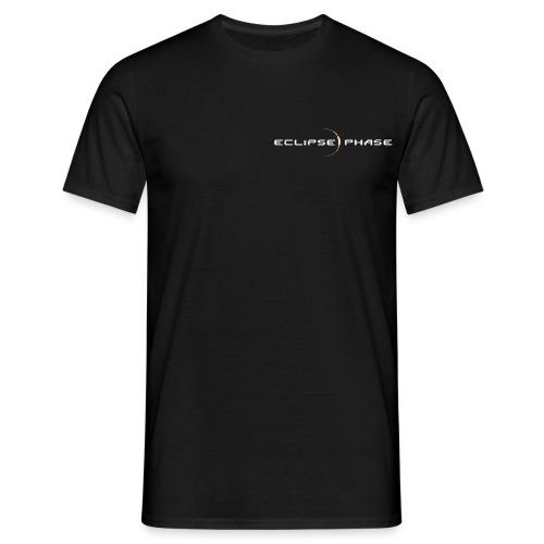 Logo fond noir - T-shirt Homme