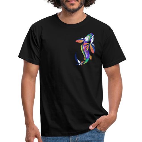 Regenbogen Fisch - Männer T-Shirt
