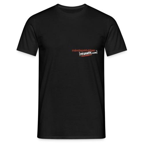 mk cff inv red - T-shirt herr