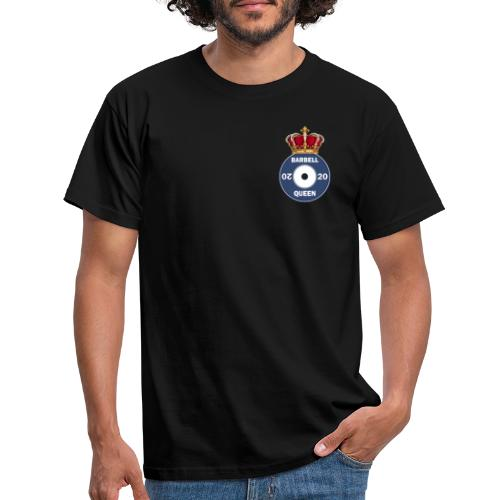 Original Barbell Queen - Men's T-Shirt