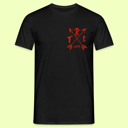 brust orange gif - Männer T-Shirt