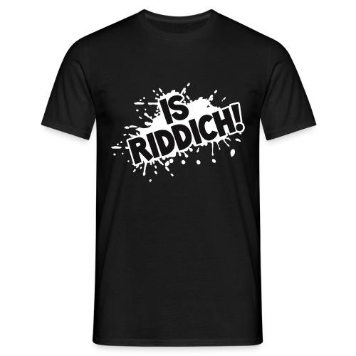 IsRiddichWeiss png - Männer T-Shirt