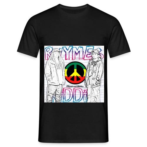 Rhymesandriddimmadebyviktorepforslag jpg - T-shirt herr