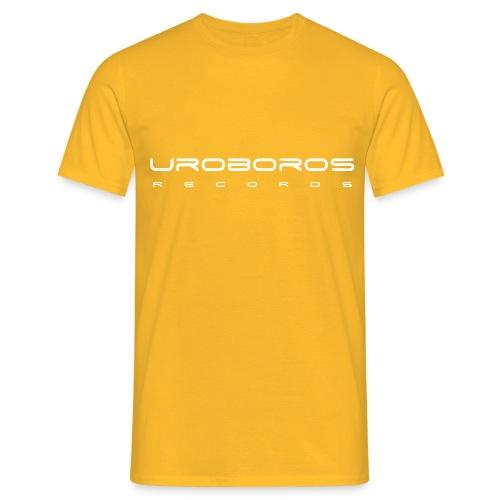 uroboros font - Men's T-Shirt
