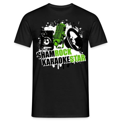Shamrock KaraokeStar - Männer T-Shirt