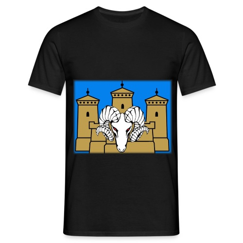 linnanpässi mu kehys - Miesten t-paita