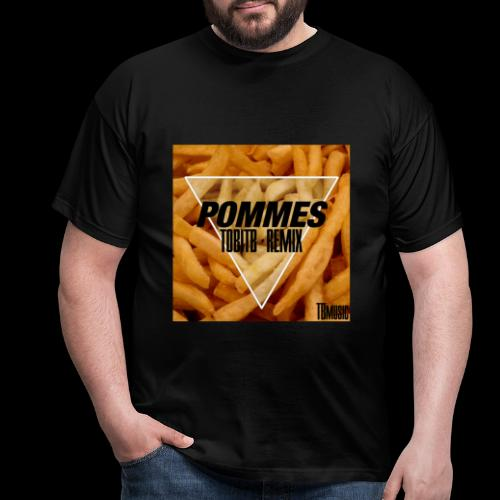 Pommes TobiTB Remix Cover - Männer T-Shirt