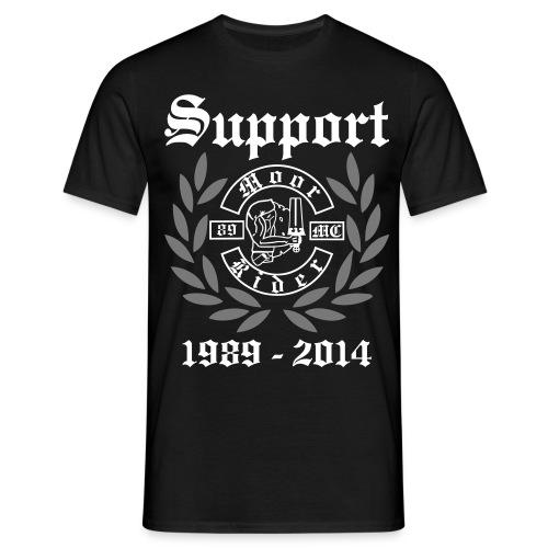 25_Jahre_Support_Shirt - Männer T-Shirt