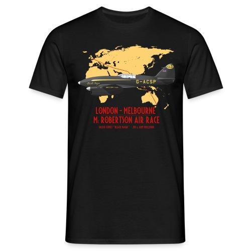 DH.88 Comet Black Magic - Men's T-Shirt