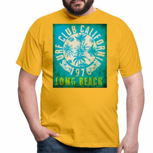 Long Beach Surf Club California 1976 Gift Idea - Men's T-Shirt