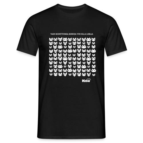 vain kodittomia valkoinen - Miesten t-paita