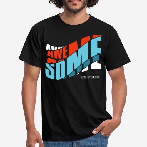 fantastische T-Shirt Design Diagonale - Männer T-Shirt