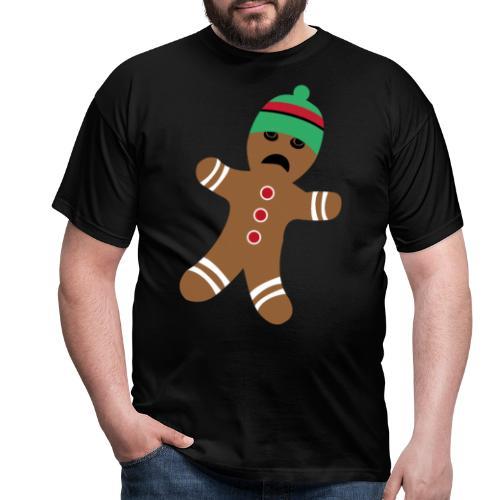 Lebkuchenmann - Lustiges Weihnachtsgeschenk - Männer T-Shirt