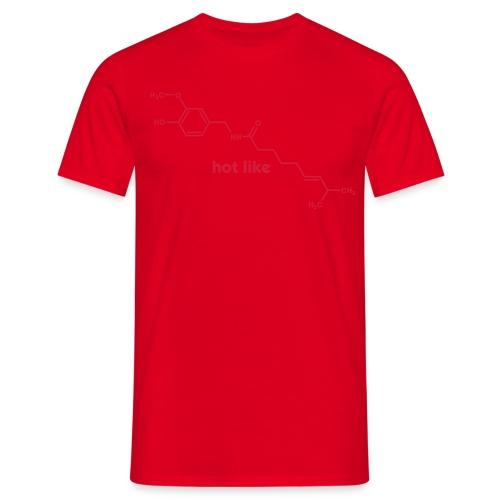 yellowibis_capsaicin_hotl - Men's T-Shirt