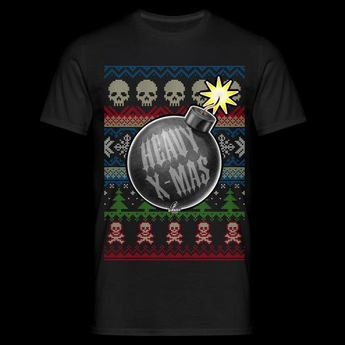 Heavy X-Mas Christbaumkugel-Bombe - Männer T-Shirt