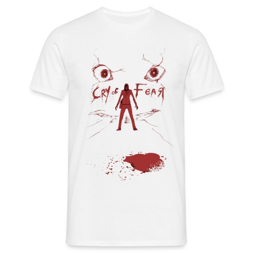 Cry of Fear - Design 5 - Men's T-Shirt