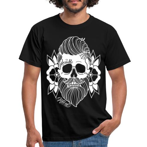 Bearded Skull - Mannen T-shirt