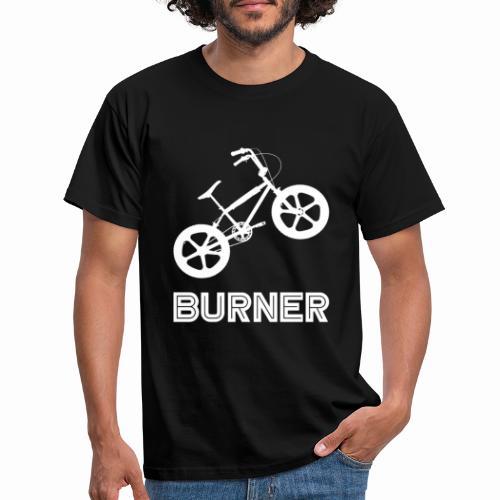BMX Burner Bike Bicycle Retro Vintage 80's - Men's T-Shirt