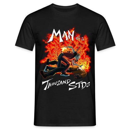 infamous manof1kstdswhite - Men's T-Shirt