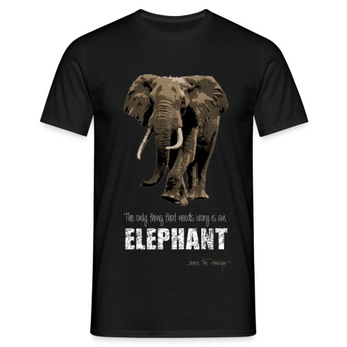 elephants need ivory - Men's T-Shirt