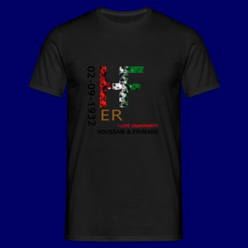 H&F ER - Maglietta da uomo