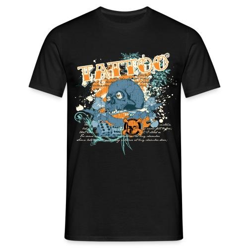 Mr Crue Dice skull png - T-shirt herr