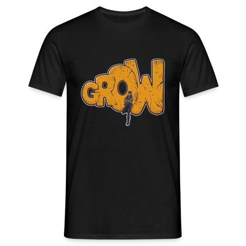 Final grow shirt black - Men's T-Shirt