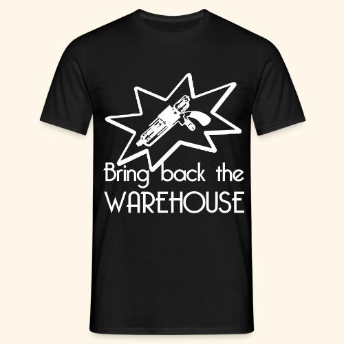 Bring Back the Warehouse Warehouse 13 Shirts - Men's T-Shirt