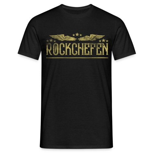 rockchefen png - Herre-T-shirt