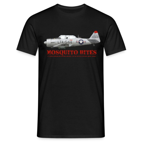 Mosquito design bites - Men's T-Shirt