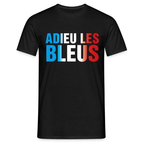 Adieu les bleus - Männer T-Shirt