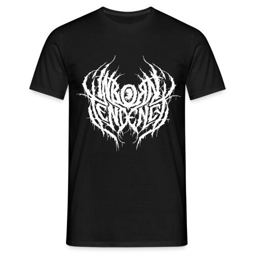 Logo, valkoinen - Miesten t-paita