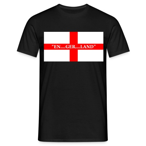EnglandFlag003 png - Men's T-Shirt
