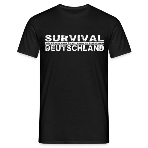 Tshirt 1Weiss png - Männer T-Shirt