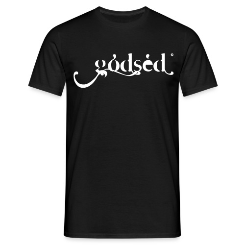 Godsèd Logo Officiel 1 Blanc - T-shirt Homme