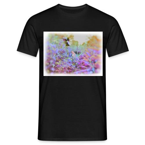 Girl in LSD Jungle - Men's T-Shirt