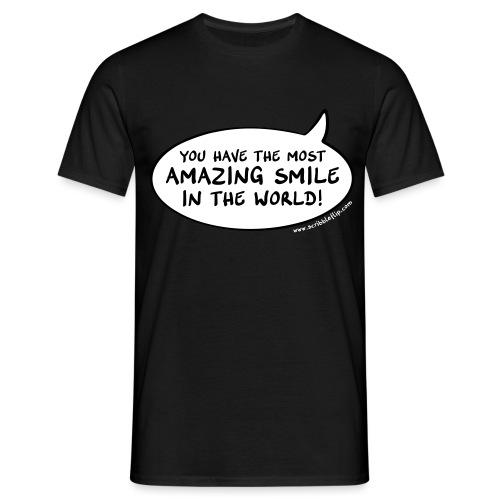Amazing Smile3 - Männer T-Shirt