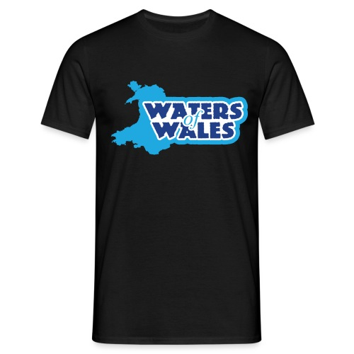 Waters of Wales Logo - Men's T-Shirt