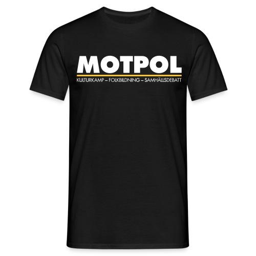 motpol3 - T-shirt herr