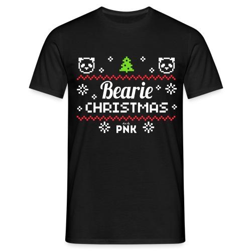 PNK Bearie Christmas - Männer T-Shirt
