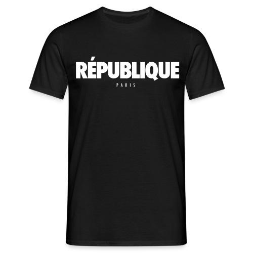 REPUBLIQUE Paris - T-shirt Homme